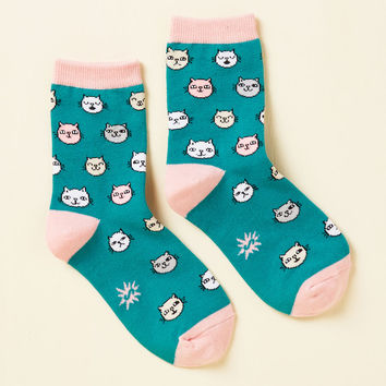 Put a Scamper On It Youth Socks | Mod Retro Vintage Socks | ModCloth.com