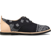 Bandana Black Hampton Shoe