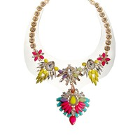 River Island Brights Color Burst On Jelly Short Necklace