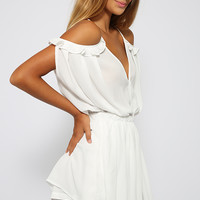 Collector Playsuit - White