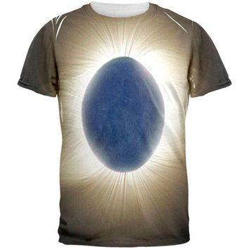 DCCKU3R Crown of the Sun Solar Eclipse 2017 All Over Mens T Shirt