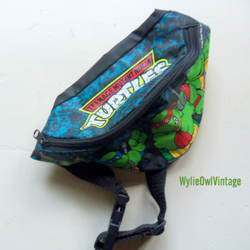 Vintage Teenage Mutant Ninja Turtles Fanny Pack 1989