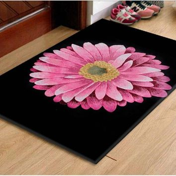 Autumn Fall welcome door mat doormat Carpet with daisy Carved  Wool  Famous Logo carpets for Hallway Bedroom Living room Aisle Bedside 100% wool Carpets AT_76_7