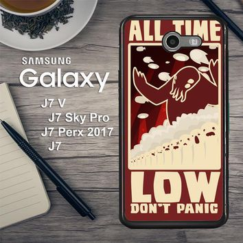 All Time Low Logo Y0296 Samsung Galaxy J7 V , J7 Sky Pro, J7 Perx 2017 SM J727 Case