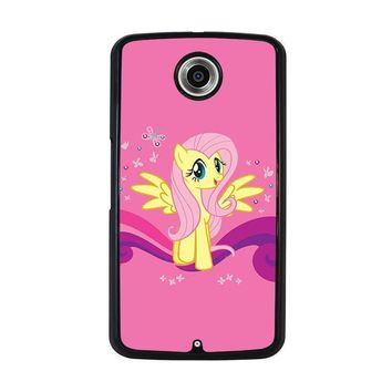 my little pony fluttershy nexus 6 case cover  number 2