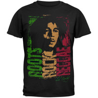 Bob Marley - Roots Rock Reggae Adult T-Shirt