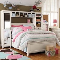 Hampton Storage Bed + Mirror Tower Bed Set