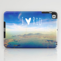 I love Rio iPad Case by Louise Machado