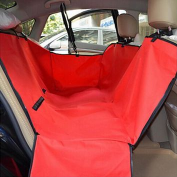 Special Hot sale Waterproof car seat cover for pets,dog seat cover different colors supply