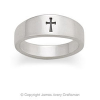 Small Crosslet Ring from James Avery