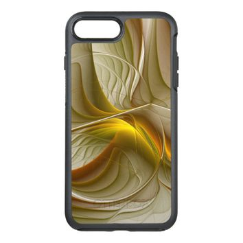 Colors of Precious Metals, Abstract Fractal Art OtterBox Symmetry iPhone 7 Plus Case