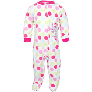 Dr. Seuss - Horton Polka-Dot Infant Footed Pajamas