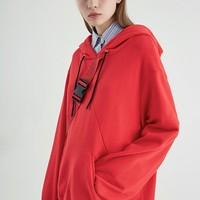 Military Sweatshirt | Red