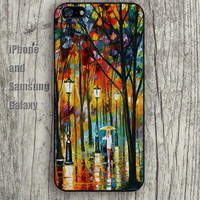 light Oil Painting iphone 6 6 plus iPhone 5 5S 5C case Samsung S3,S4,S5 case Ipod Silicone plastic Phone cover Waterproof