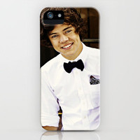 Harry Styles One Direction  iPhone Case by Toni Miller | Society6
