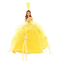 disney parks christmas beauty and the beast belle tulle ornament new with tag