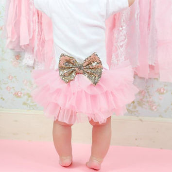 Baby Girl Bloomer~Diaper Cover~Baby Bloomers~First Birthday Girl~1st Birthday Girl Outfit~Cake Smash Outfit~Newborn Photo Prop~Bloomers