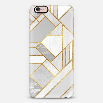 Gold City / Geometric Marble iPhone 6s Plus case by Elisabeth Fredriksson | Casetify