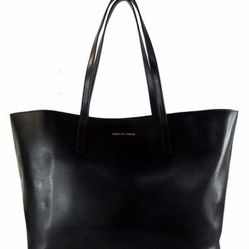 Michael MICHAEL KORS EMRY Black Large Tote Bag Msrp