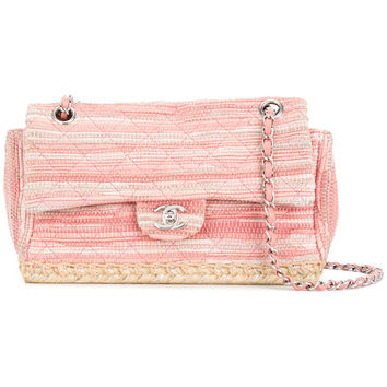 Chanel Vintage Espadrille Chain Shoulder Bag - Farfetch