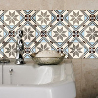 Tile decals Stickers - Tile Decals - Tile decals for Kitchen Bathroom - PACK OF 20 - Mexico, Morocco, Portugal, Spain, Mosaic #20 3M quality - Edit Listing - Etsy