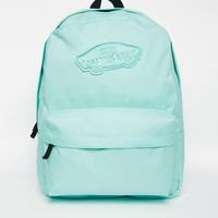 Vans Realm Backpack in Green