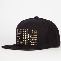Yea.Nice Studs Mens Snapback Hat Black One Size For Men 22299910001