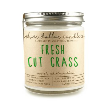 Fresh Cut Grass - 8oz Soy Candle