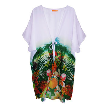 Gova Swimwear Tropical Cover Up