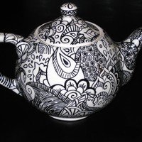 Marrakesh Teapot by PaisleyHillDesigns on Etsy