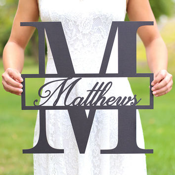 Morgann Hill Designs Personalized Family Wall Sign | zulily