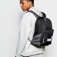 Puma Fundamentals Phase Backpack In Black 7358901