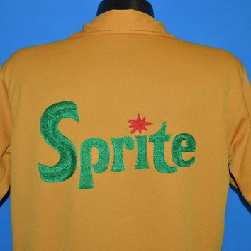 70s Sprite Large Collar Polo Shirt Extra Large