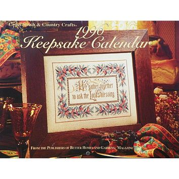1996 Keepsake Calendar - Counted Cross Stitch Magazine