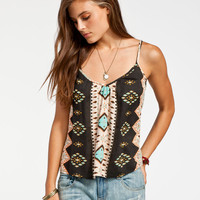 Billabong Mystic Love Womens Cami Black Combo  In Sizes