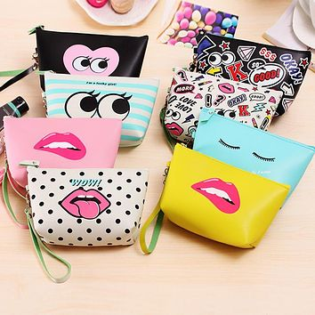 Vanity Wash Female Necessaire Necessaries For Women Makeup Cosmetic Bag Organizer Travel Toiletry Kit Case Beauty Make Up Pouch
