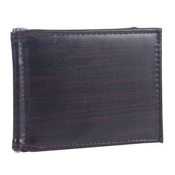 Sleek Money Clip Wallet