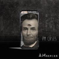 Abraham Lincoln 3rd Eye Vision Case Cover for Apple iPhone 4 4s 5 5s 5c 6 6s SE Plus & iPod Touch