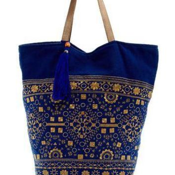 Large Blue Tote