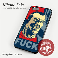 Negan in poster Phone Case for iPhone 4/4s/5/5c/5s/6/6s/6 Plus
