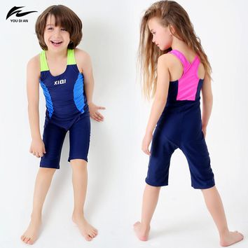 Baby Girl Competitive Swimwear Bathing Suit Boy One Piece Swimsuit Toddler Children Swimwear Surf Suits