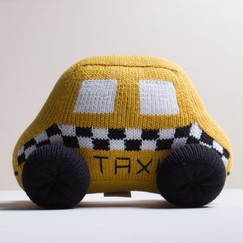 Taxi Stuffed Toy