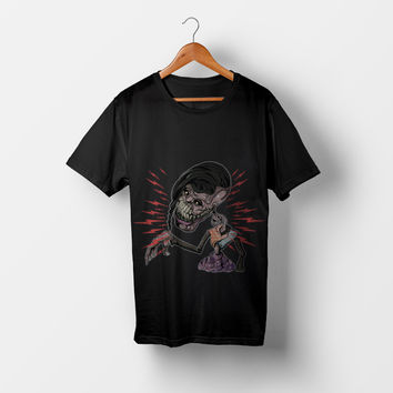 Zombie Rays All Over Print Shirt by Lostanaw