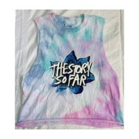 The Story So Far Flower Tie Dye Shirt