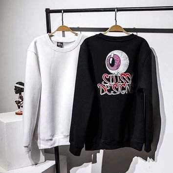 DCCKI2G Stussy Fashion Print Top Sweater Pullover