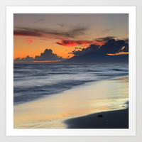 Magic days. Wonderful sea... Art Print by Guido Montañés
