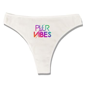 PLUR Vibes Womens Thong Underwear