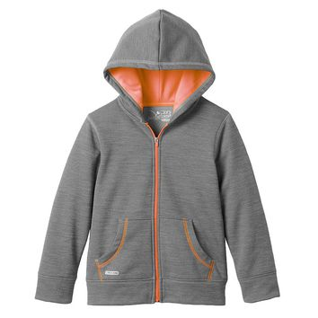 Jumping Beans Space-Dyed Performance Full-Zip Hoodie - Boys