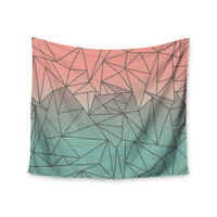 "Fimbis ""Bodhi Rays"" Geometric Illustration Wall Tapestry"