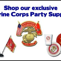 Shop for Birthday Ball supplies at The MARINE Shop! We have custom glasses, coins, flag sets and more for your event. We ship APO/FPO